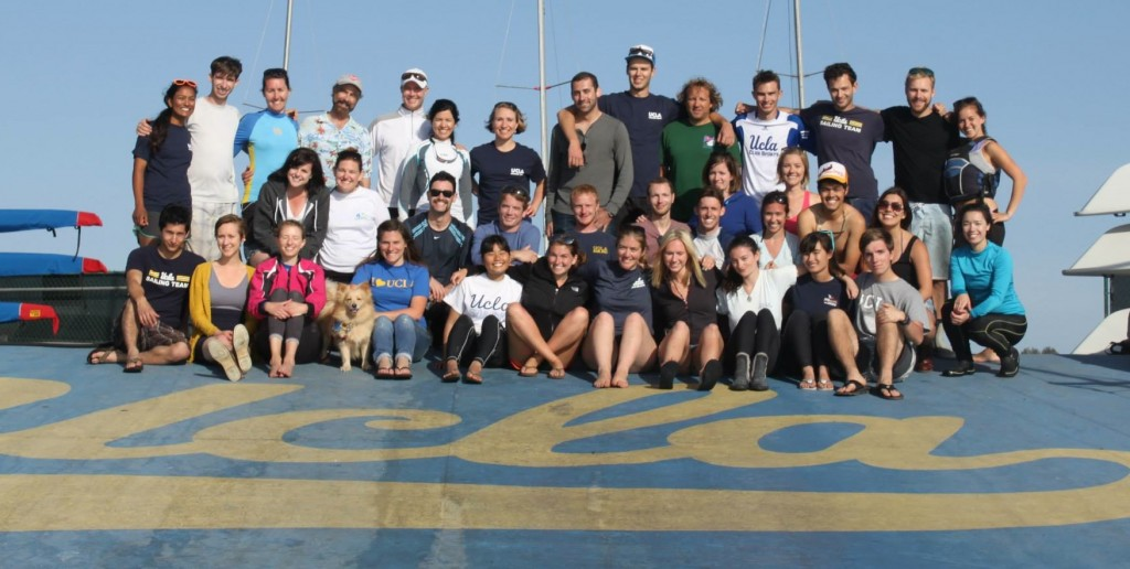 Some of the participants at the 2013 Alumni Regatta