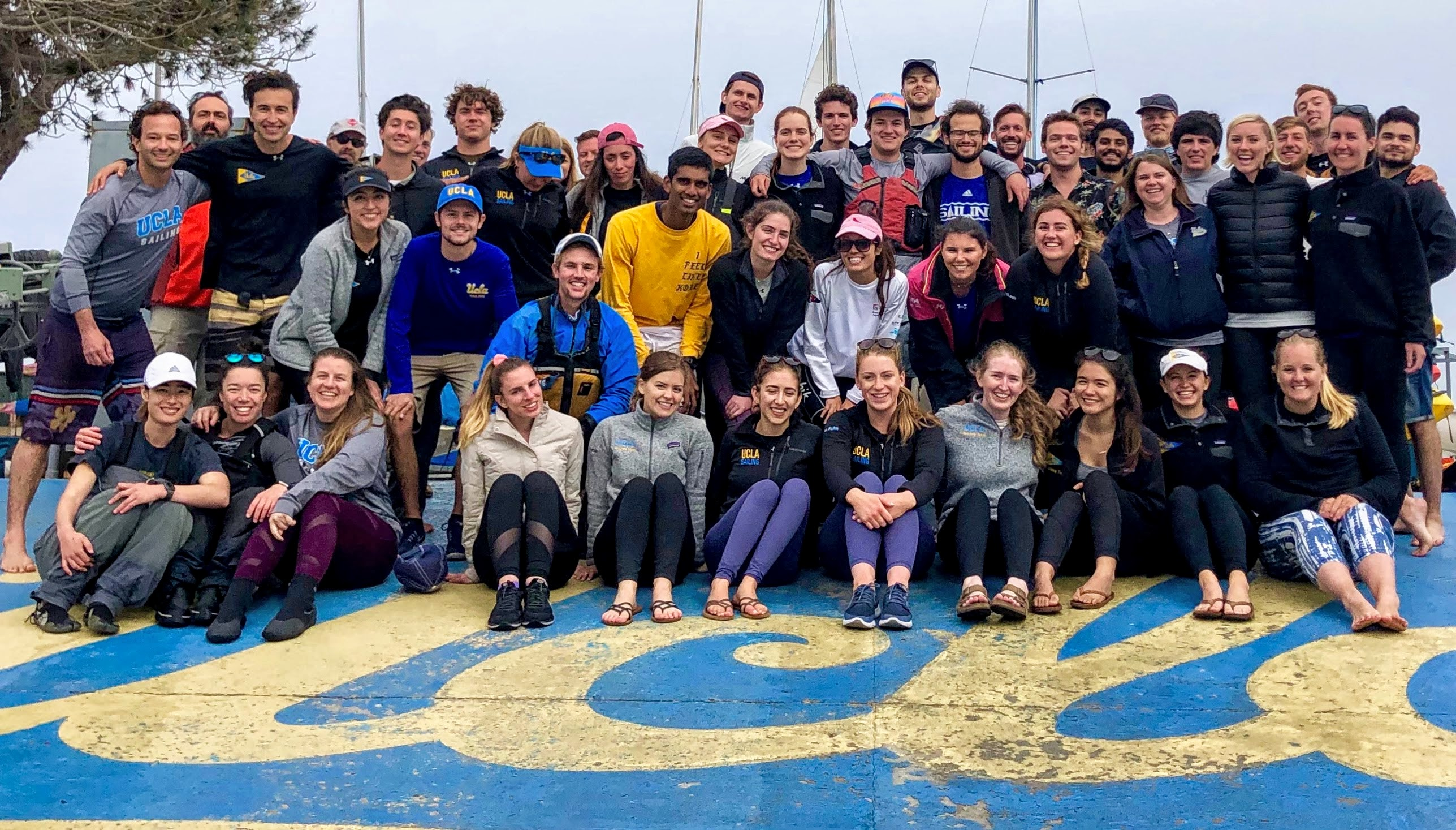 Sailors at the 2019 Alumni Regatta